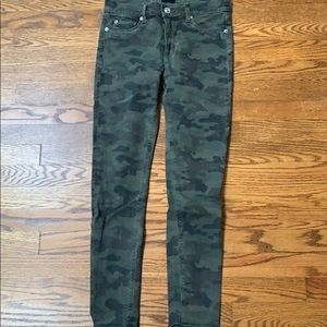 Hudson camouflage jeans